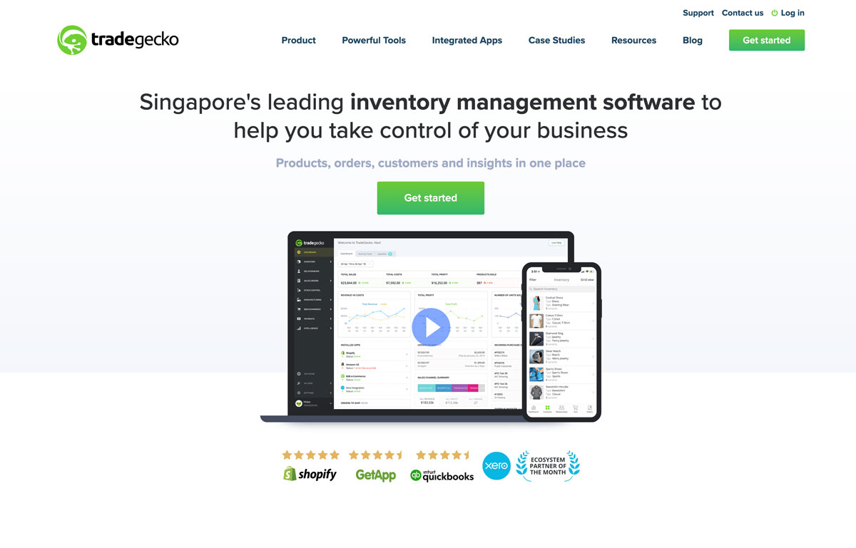 best direct to customer inventory management tool TradeGacko - Luxe Digital