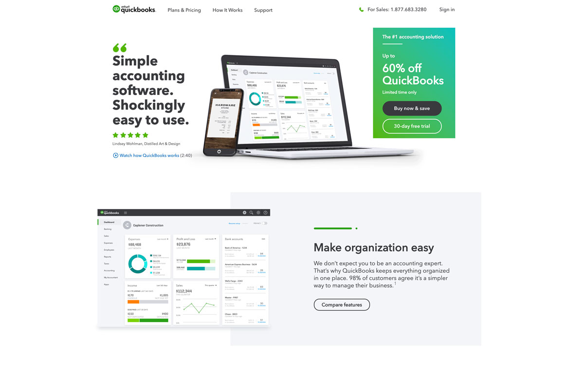 best Shopify accounting and taxes software QuickBooks - Luxe Digital