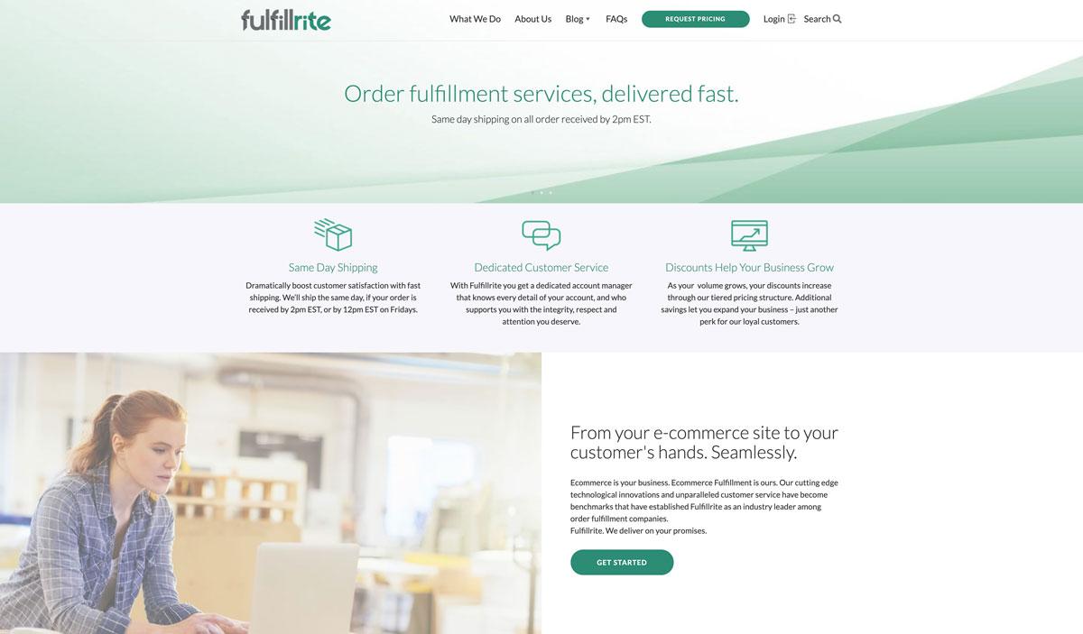 best Shopify DTC fulfillment service Fulfillrite - Luxe Digital