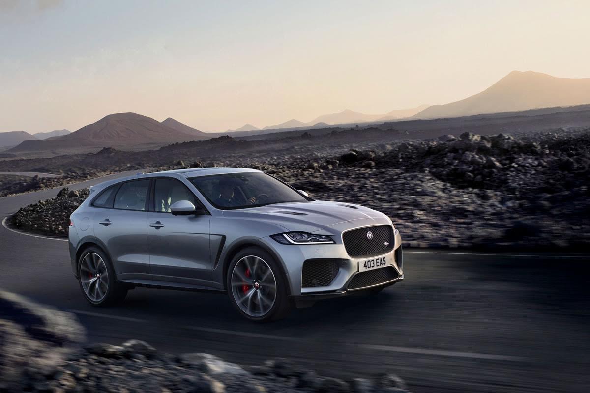 Jaguar F-Pace 2020 best luxury SUV - Luxe Digital