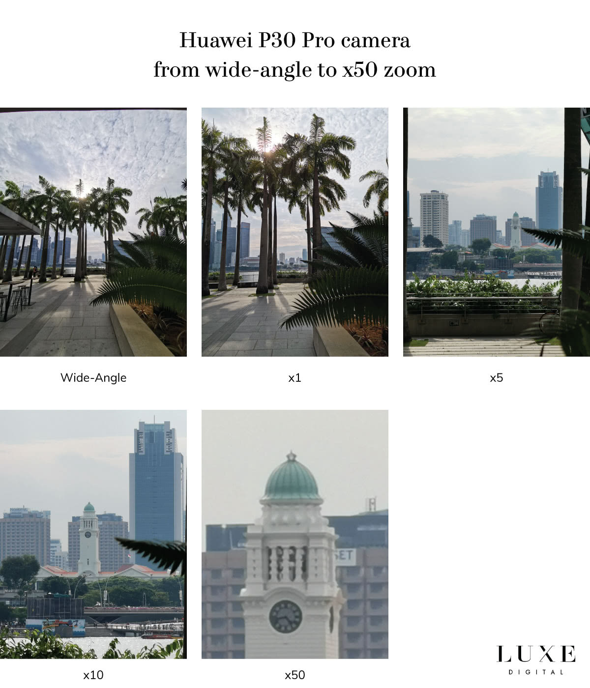 Huawei P30 Pro camera zoom test review - Luxe Digital