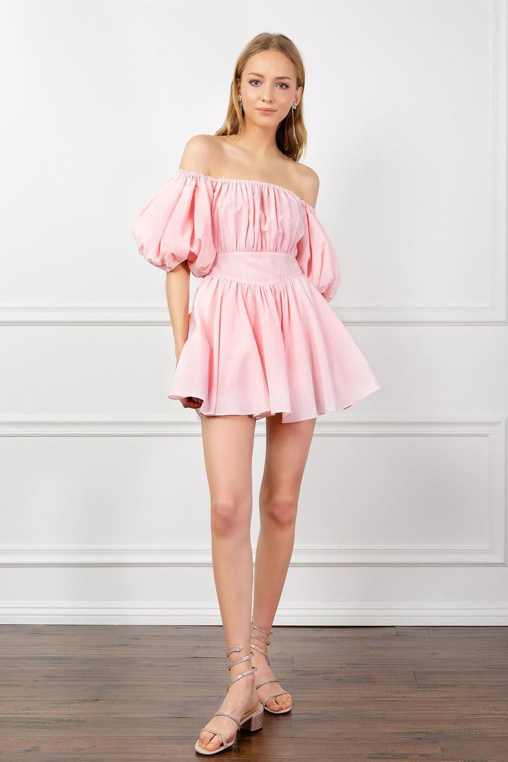 J.ING pink dress summer 2019 women - Luxe Digital