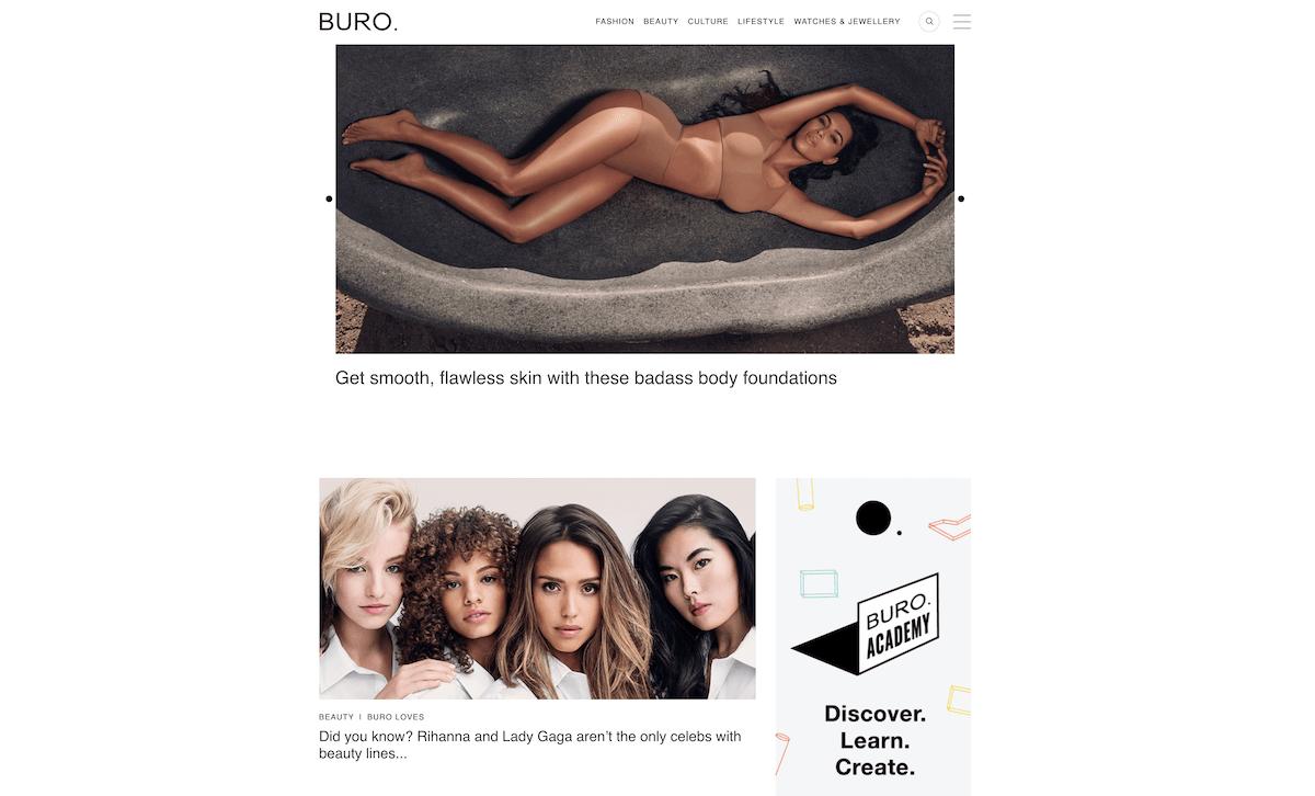 best luxury magazine Buro 24/7 - Luxe Digital