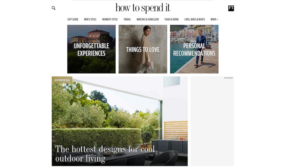 best luxury magazine How to spend it - Luxe Digital