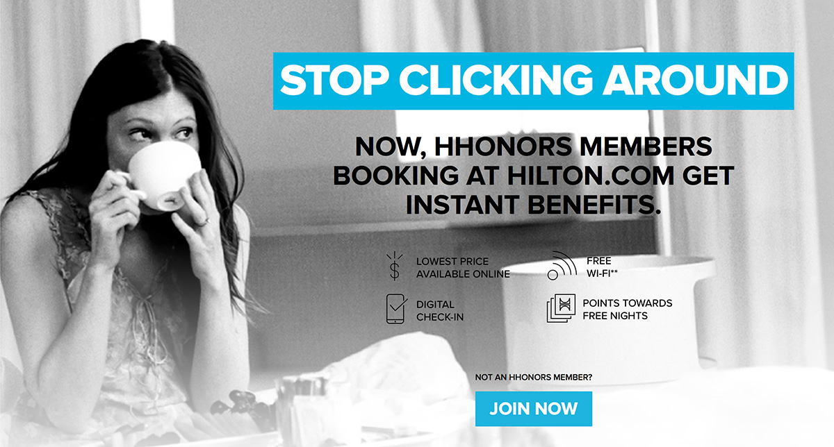 luxe digital luxury hotel online transformation vs ota hilton campaign stop clicking around