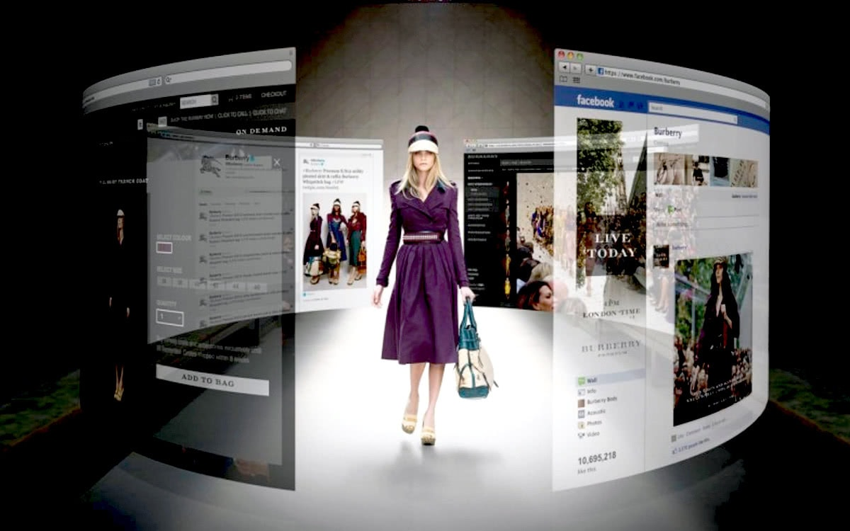 Luxe Digital luxury Burberry big data social media marketing