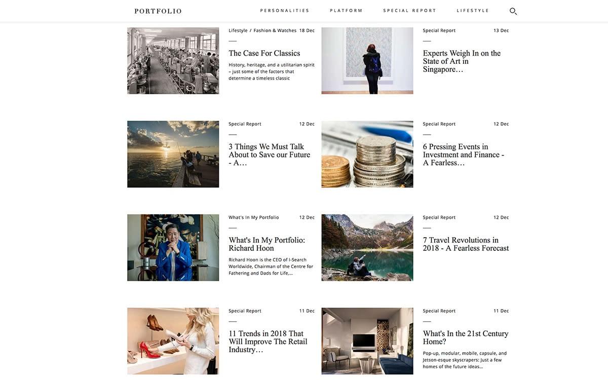 Luxe Digital top luxury magazines to target affluent consumers in Asia - Portfolio Singapore