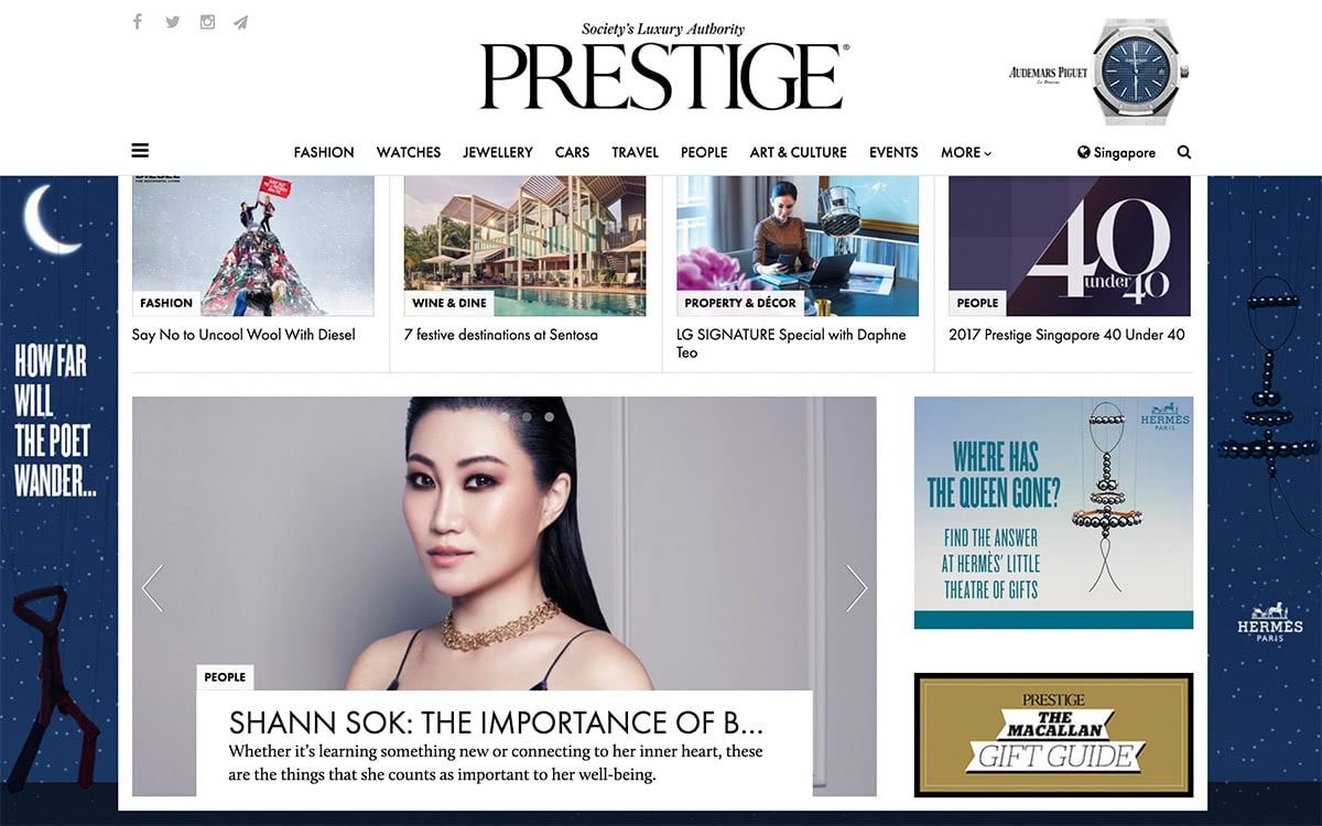 Luxe Digital top luxury magazines to target affluent consumers in Asia - Prestige Singapore