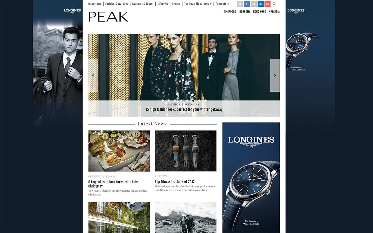 Luxe Digital top luxury magazines to target affluent consumers in Asia - The Peak Singapore