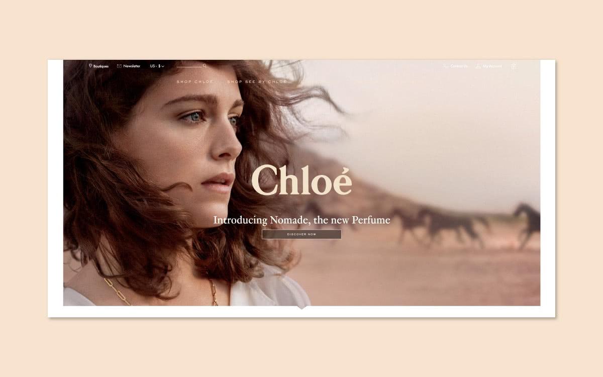 Luxe Digital luxury monobrand online retail YNAP Chloe flagship store