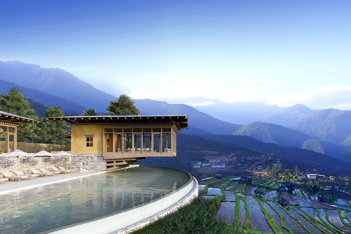 Luxe Digital travel Bhutan Six Senses hotel 2018