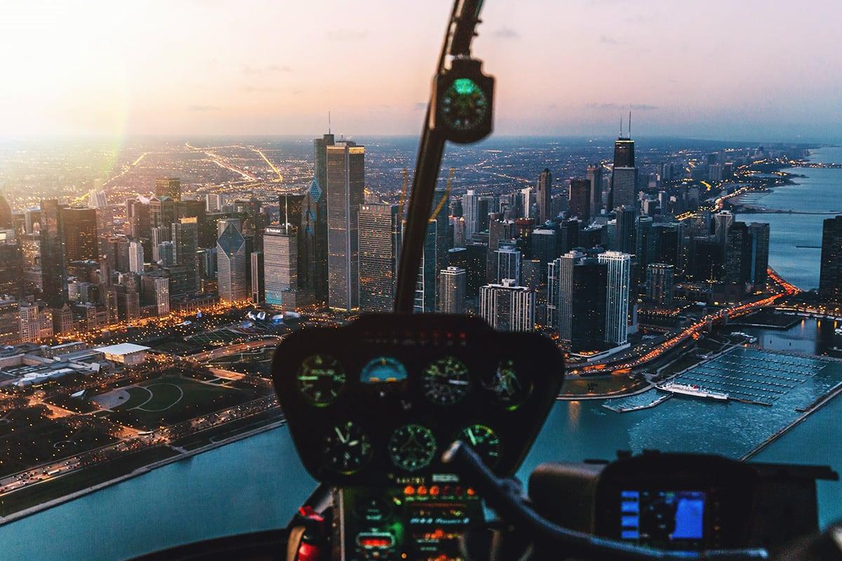 Luxe Digital travel luxury helicopter charter Philadelphia