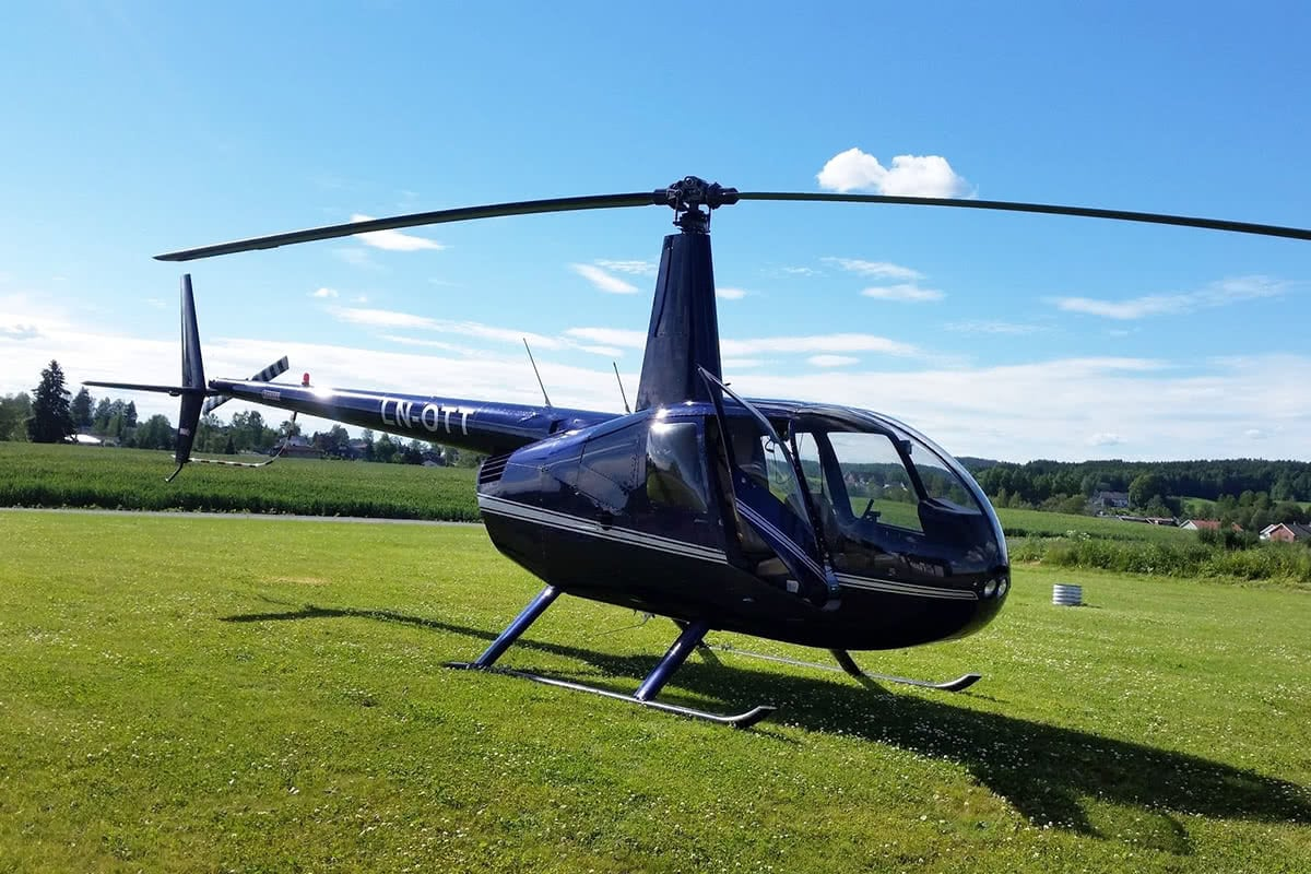 Luxe Digital travel ultra-luxury Robinson R44 Raven II Wings Air helicopter