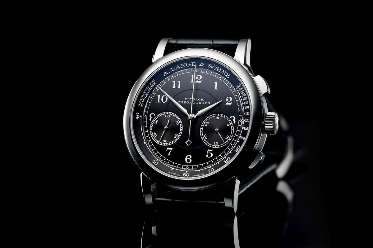 Luxe Digital luxury watch A.Lange Sohne 1815 chronograph