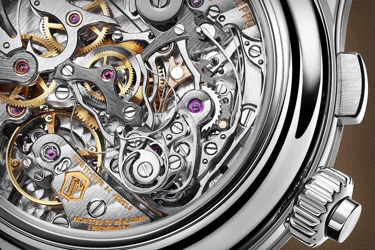 Luxe Digital luxury watch Patek Philippe mechanical movement