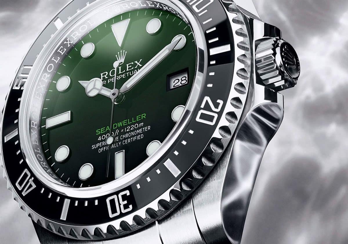 Luxe Digital luxury watch Rolex Sea-Dweller 50 anniversary