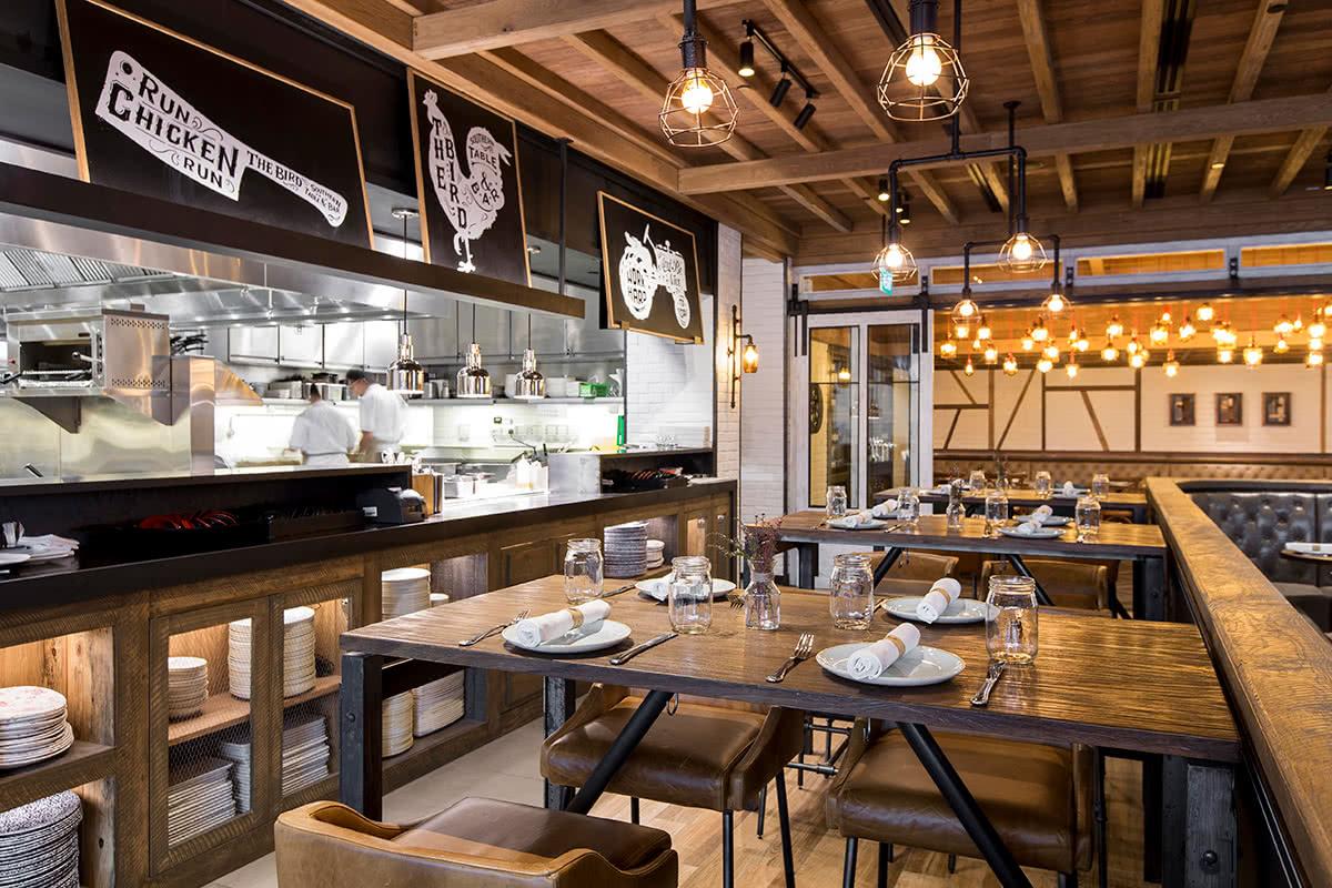 Luxe Digital luxury restaurant Singapore The Bird MBS