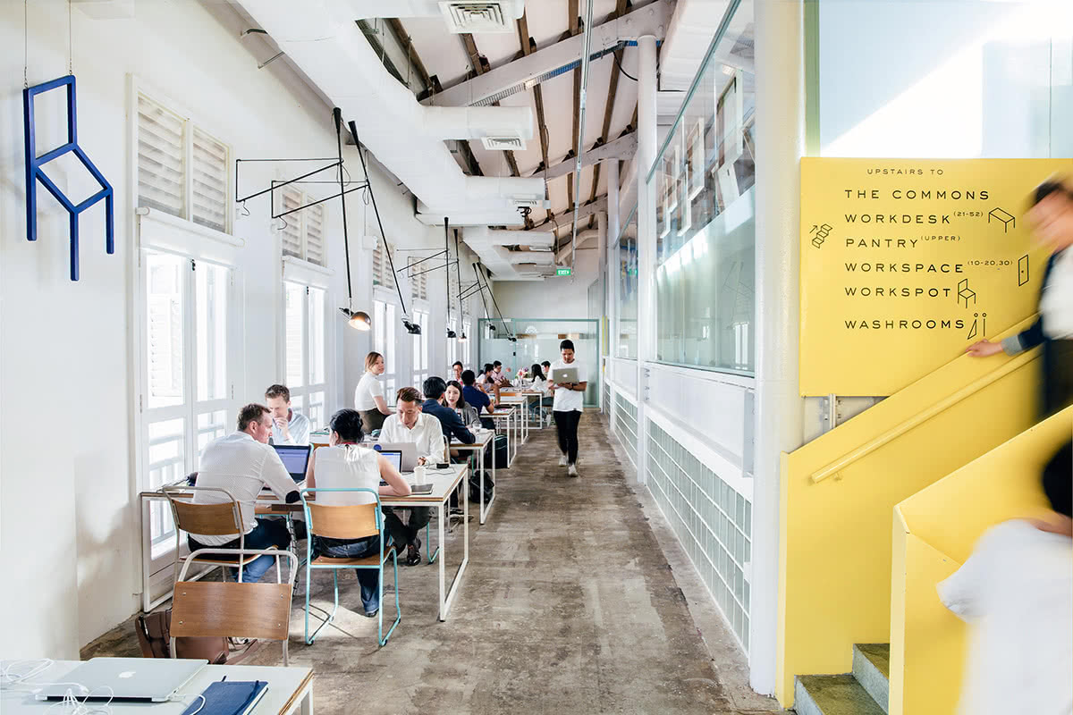 Luxe Digital luxury workdesk Singapore The Working Capitol