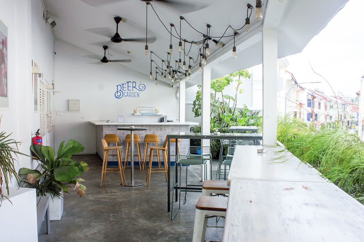 Luxe Digital co working space Singapore The Working Capitol review