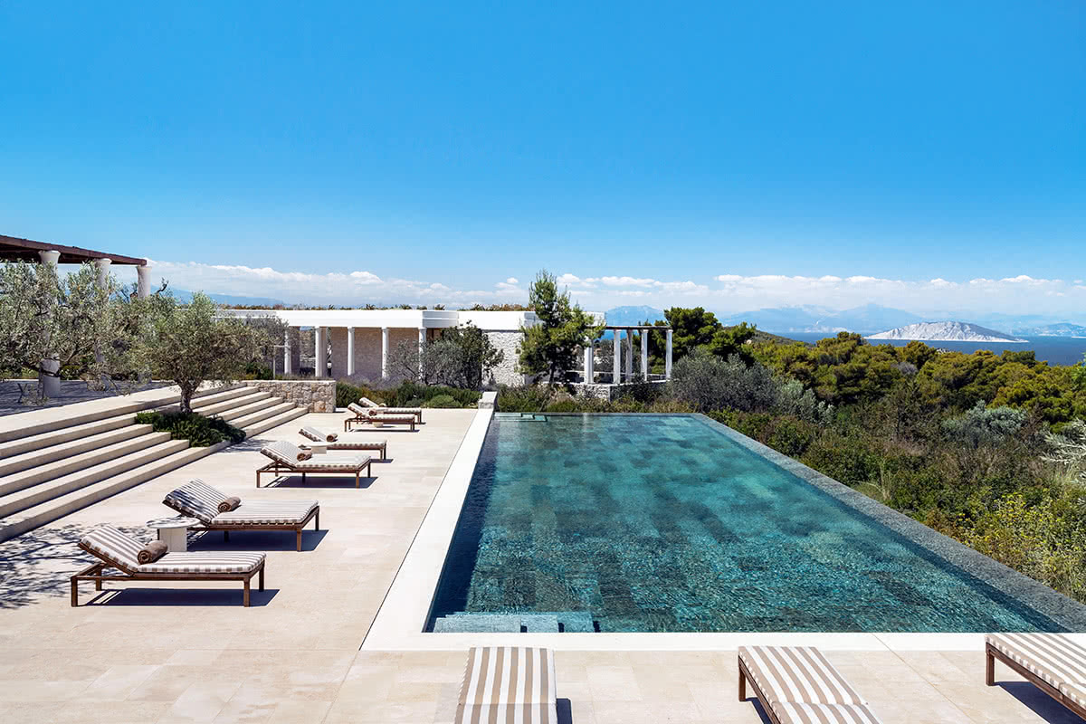 Luxe Digital Miltos Kambourides luxury real estate hospitality Amanzoe Greece