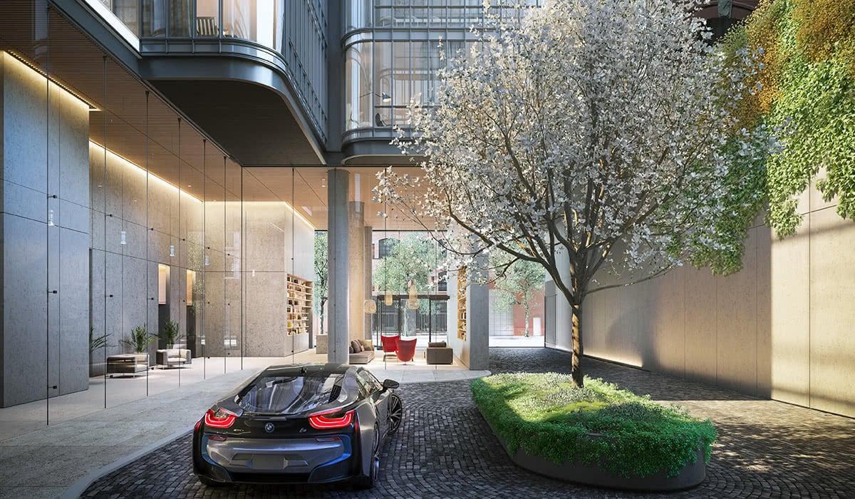 Luxe Digital luxury condo New York 565 Broome SoHo BMW partnership