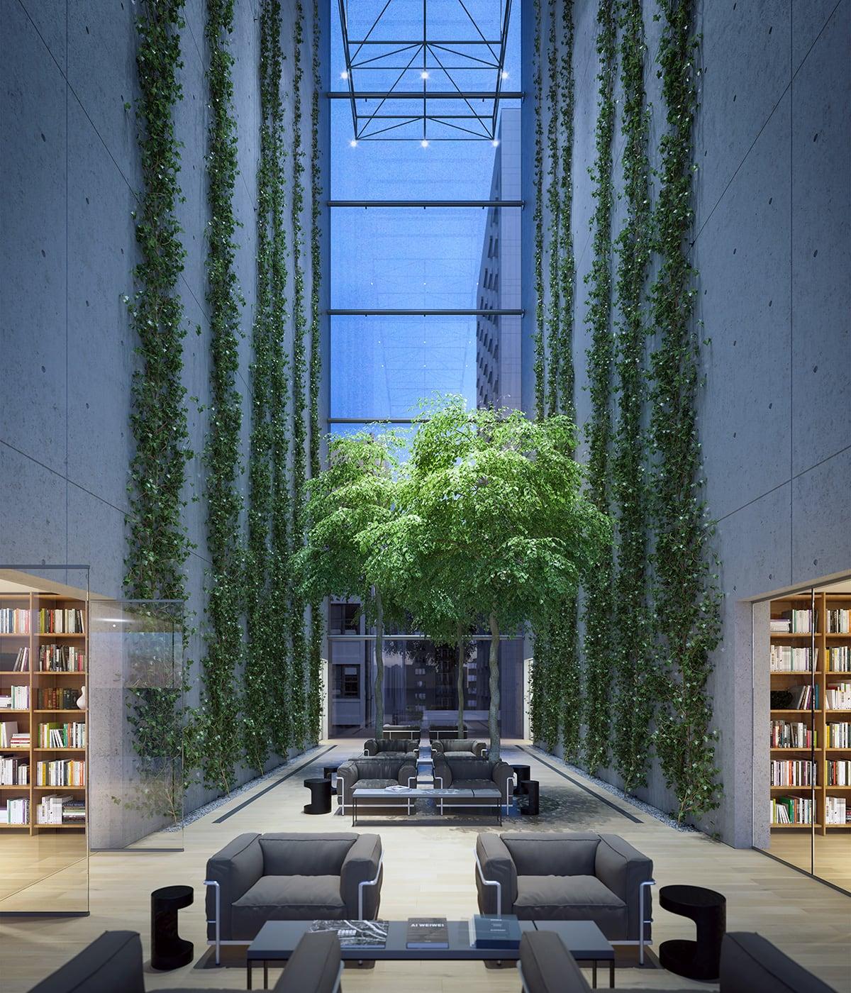 Luxe Digital luxury condo New York 565 Broome SoHo interior