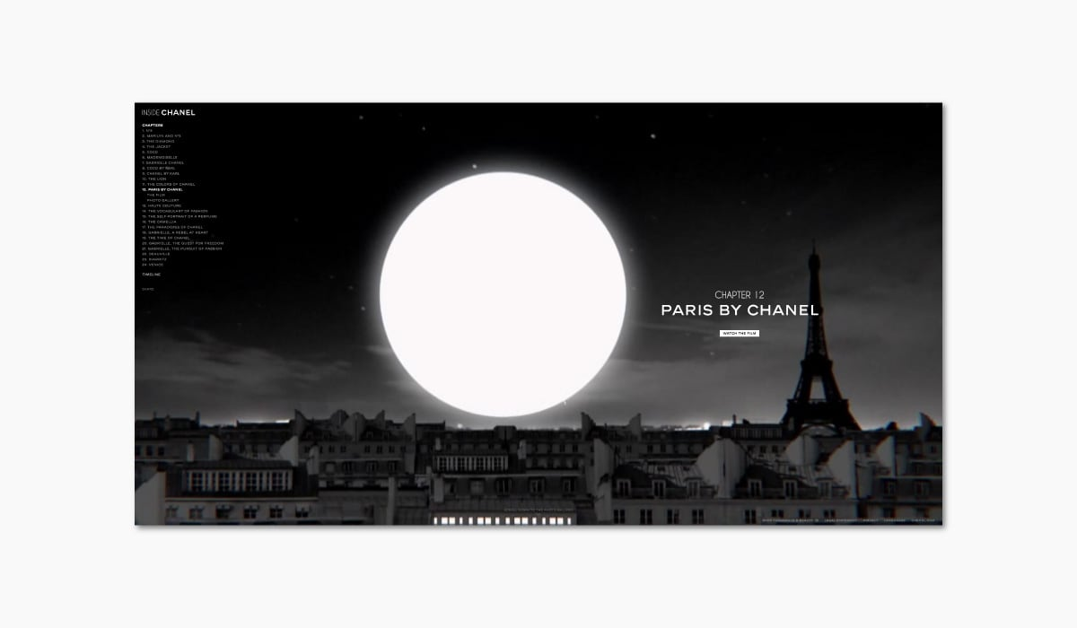 Luxe Digital online storytelling luxury brands chanel