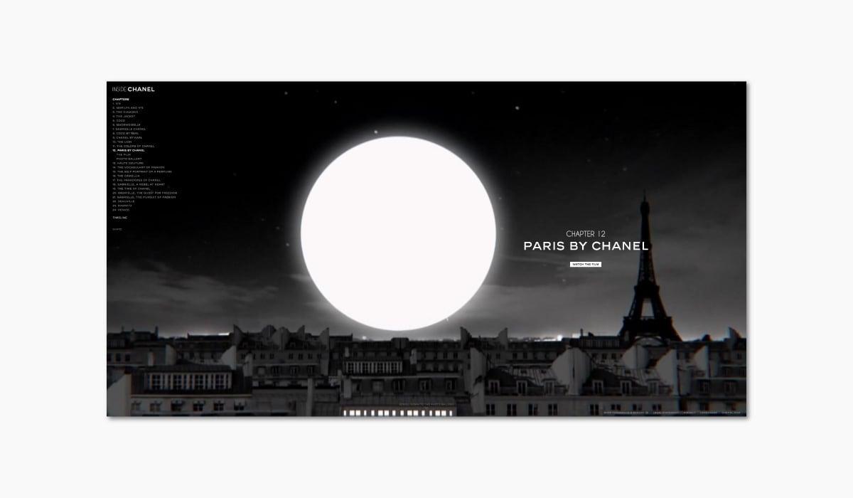 Luxe Digital online storytelling luxury brands chanel