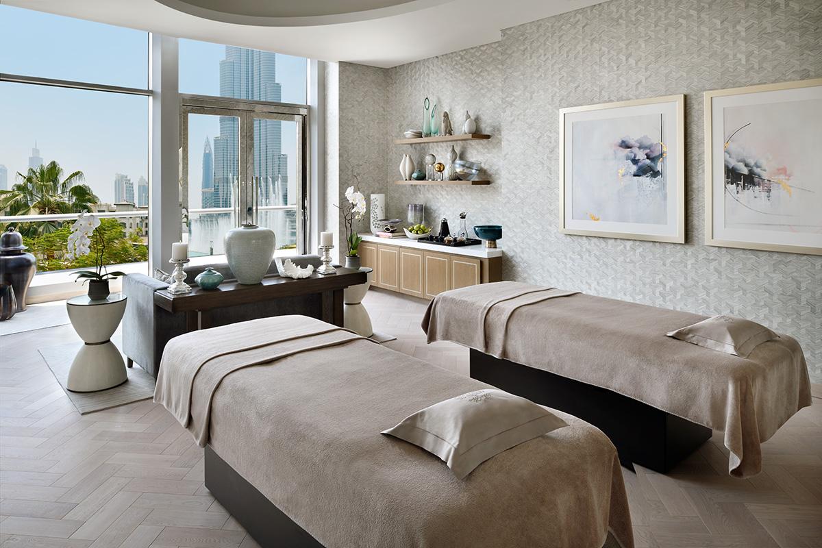 Luxe Digital luxury hotel Dubai Address Downtown spa