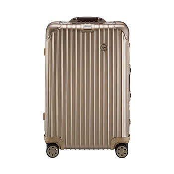 Rimowa Private Jet suitcase Titanium - Luxe Digital