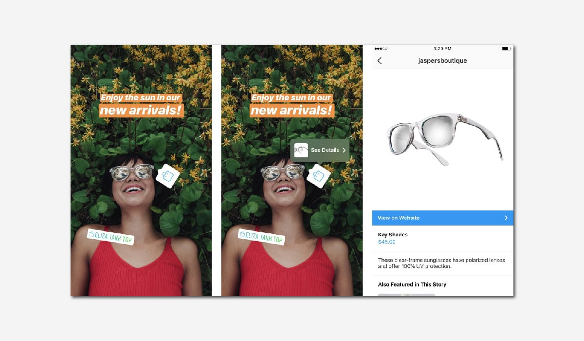 Instagram shopping stories digital holiday shopping trends luxury retailers must know Luxe Digital