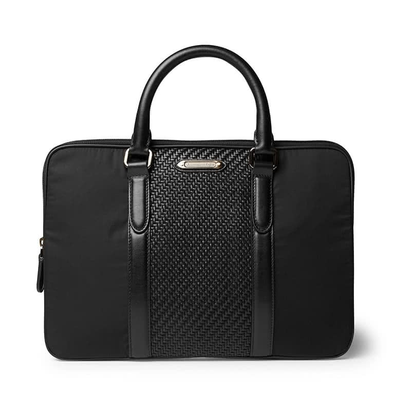 best gifts for him ermenegildo zegna pelle tessuta briefcase luxe digital