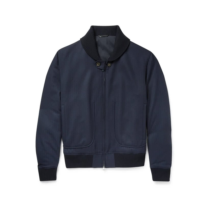 best gifts for him luxury guide brioni herringbone wool bomber jacket luxe digital