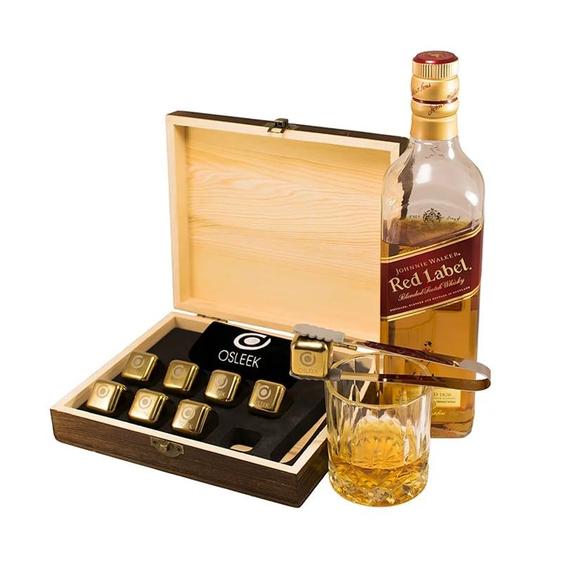 best christmas gifts for him luxury guide osleek gold platinium set whiskey stones luxe digital