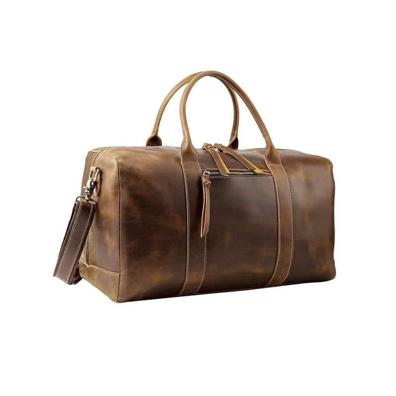 Best Father's Day gifts for him luxury guide polare genuine leather duffle bag luxe digital