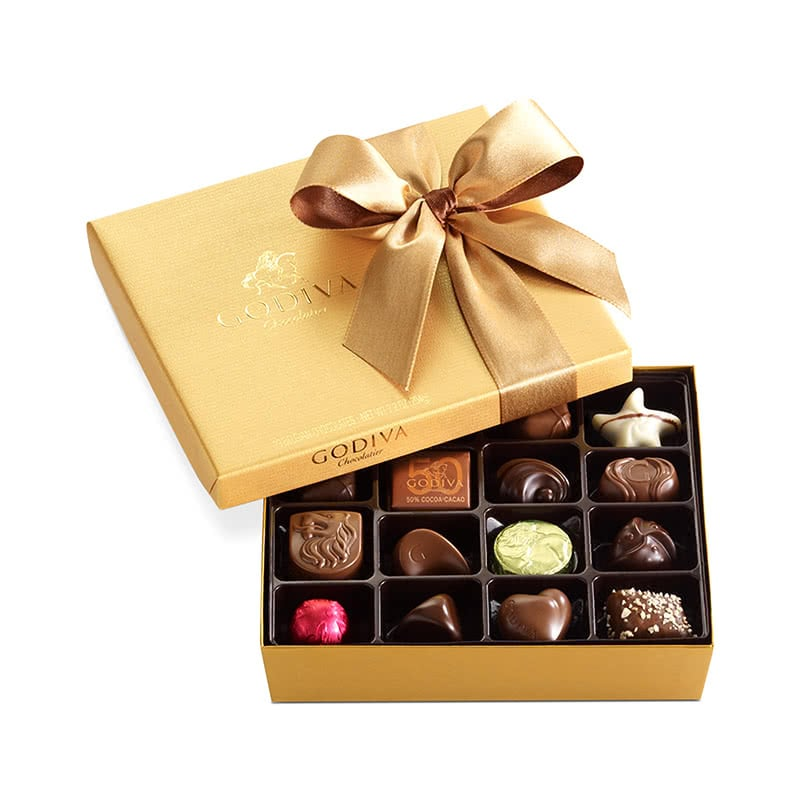 best christmas gifts for her under 100 godiva chocolate luxe digital